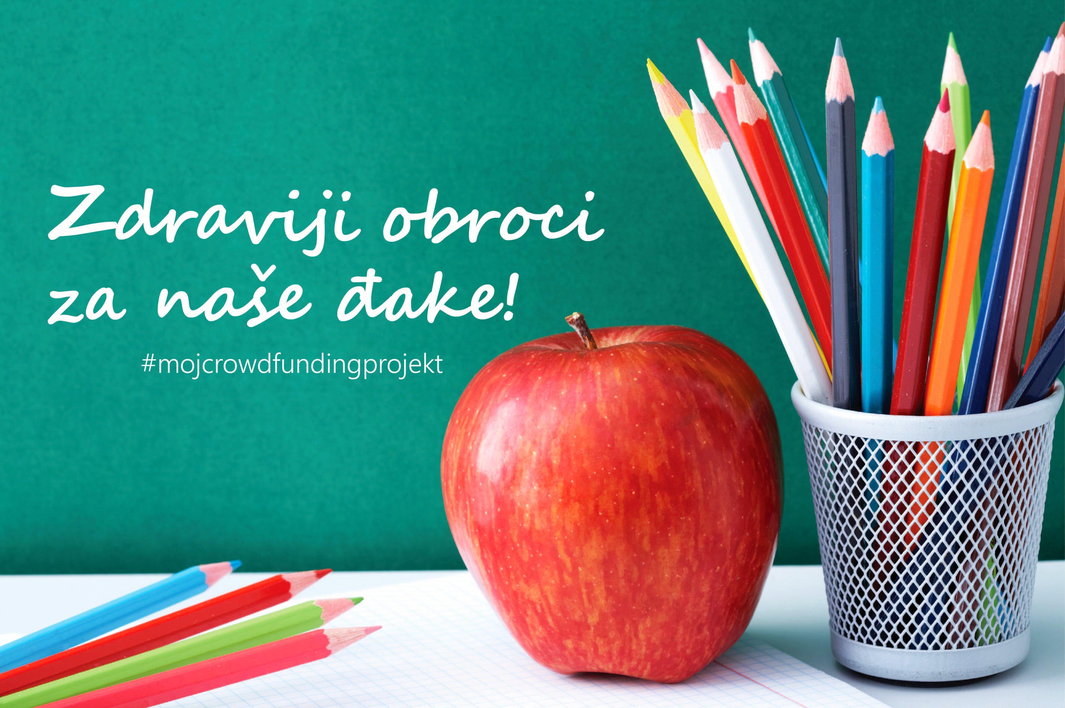 Zdraviji školski obroci za naše đake!